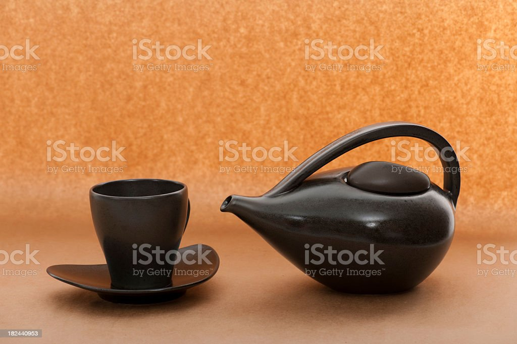 green tea cup royalty-free stock photo