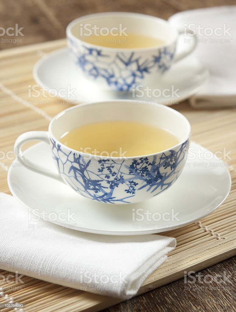 green tea for two royalty-free stock photo