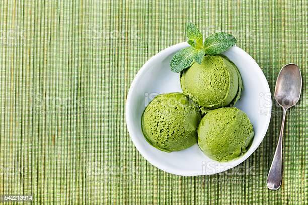 Green tea matcha ice cream in white bowl wooden background picture id542213914?b=1&k=6&m=542213914&s=612x612&h=qmd99 xboulbtbeybzhnjglmzcc 978gqevezf6fkkg=