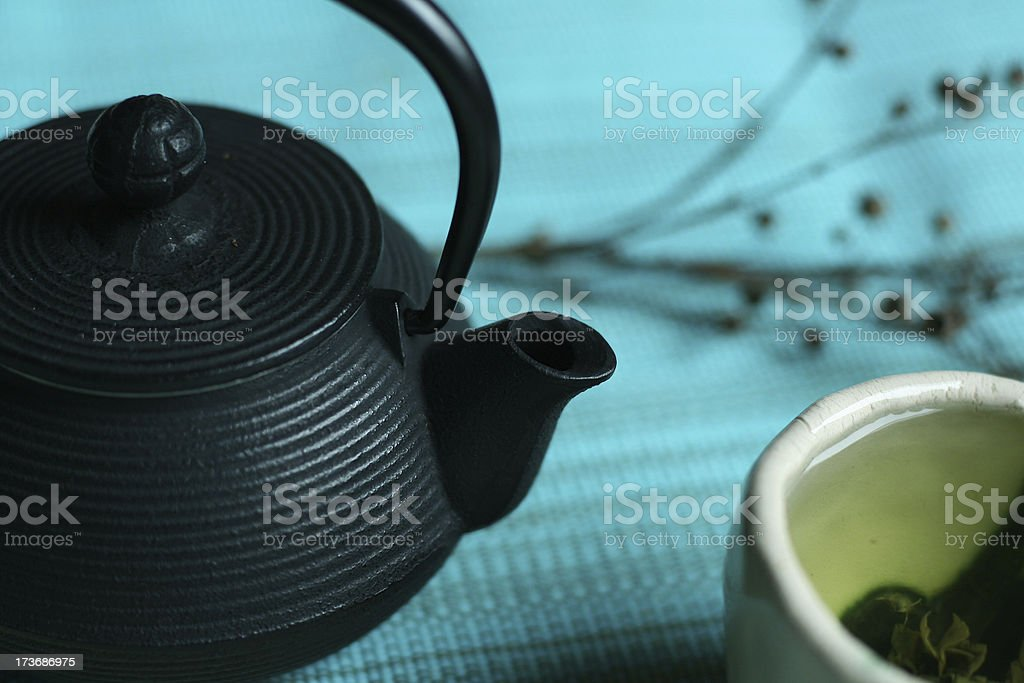Green Tea royalty-free stock photo