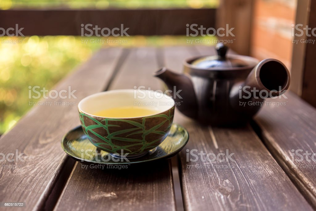 Groene thee royalty free stockfoto