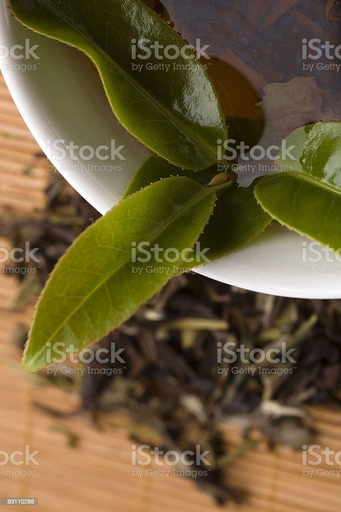 green tea - Royalty-free Altın - Tanımlı renk Stok görsel