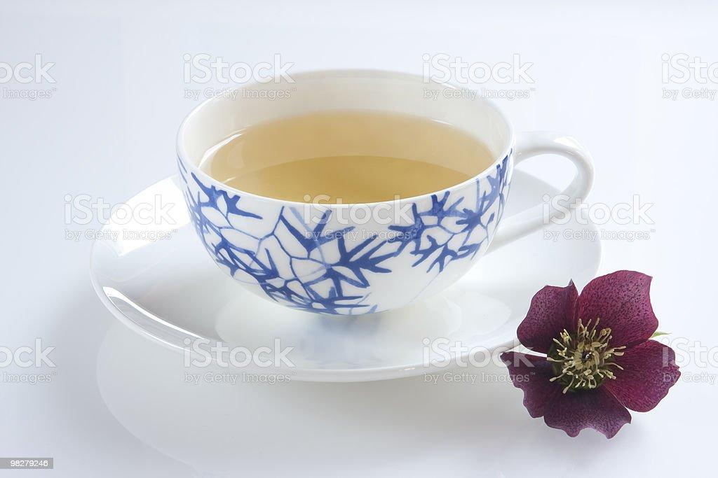 Tè verde foto stock royalty-free