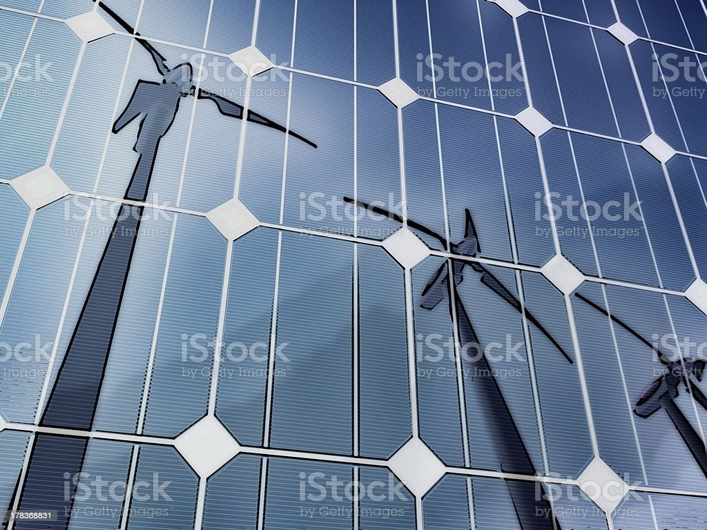 Green technologies stock photo