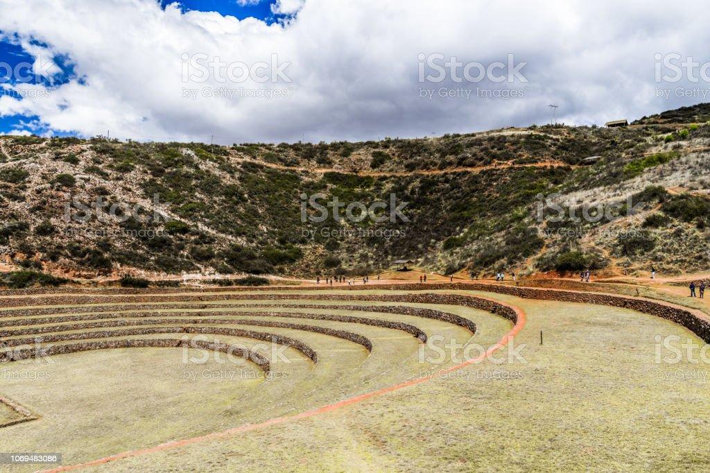 Terrazas Verdes De Los Antiguos Incas Foto De Stock Y Más