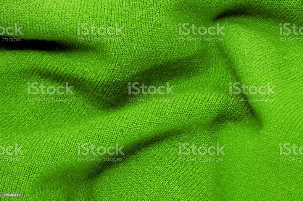 green textile royalty-free stock photo