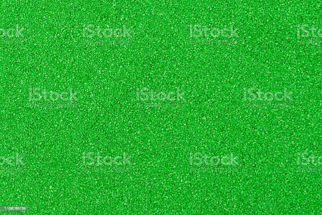 Green textured background smooth surface. Lawn surface or fine...