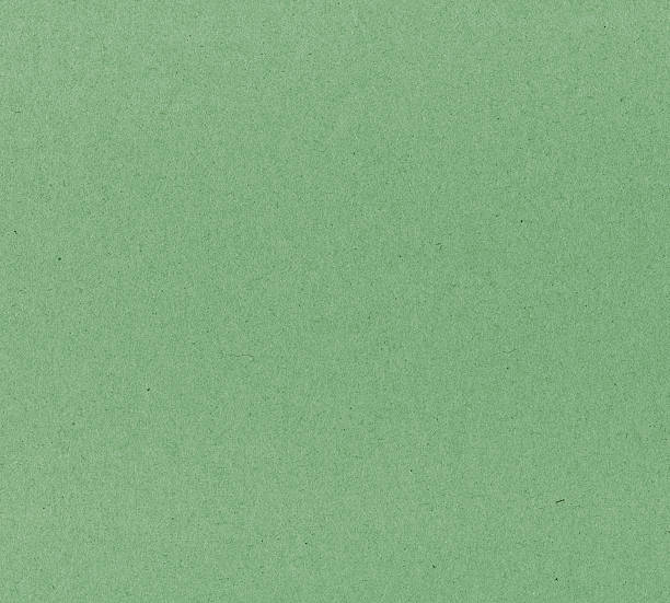 green textured cardboard stock photo