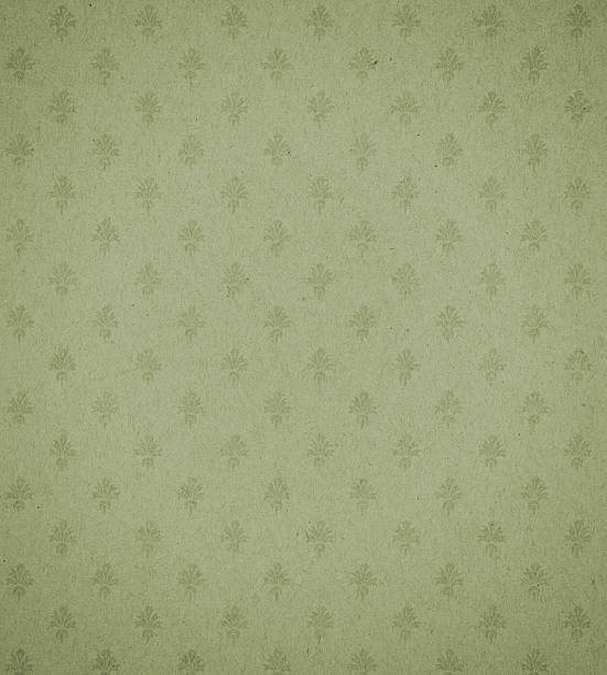 green textured paper with symbol background texture stock photo