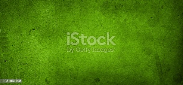 Close-up of green textured wall background.