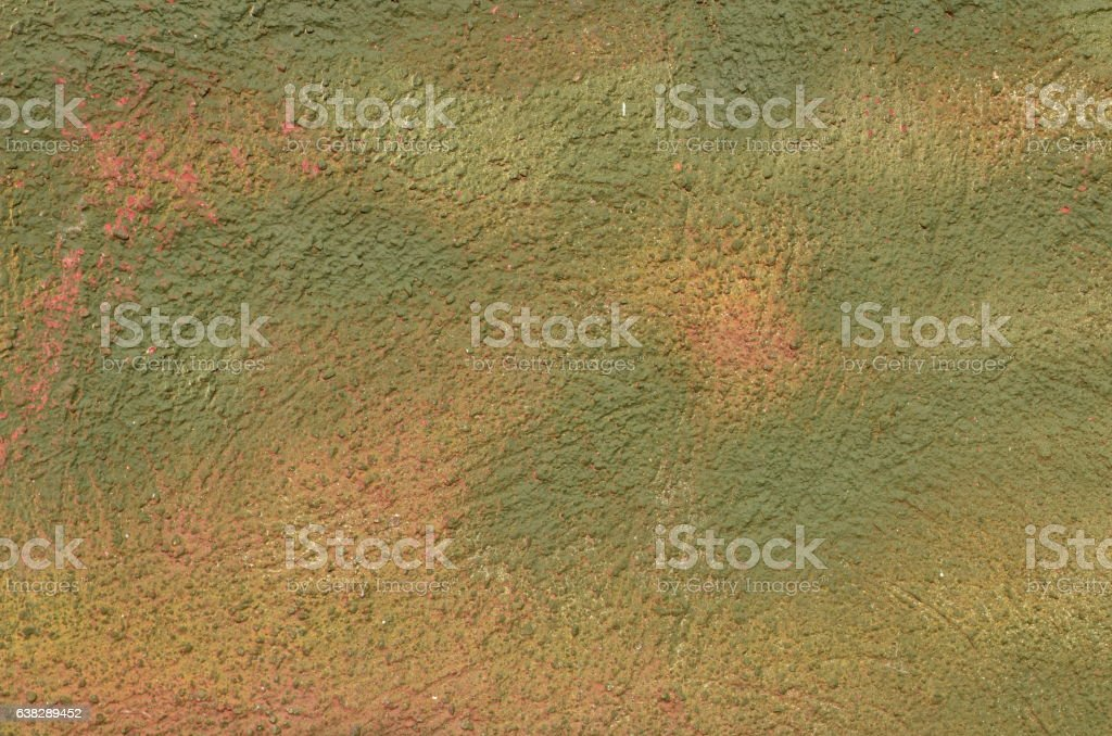 Green textured wall stock photo