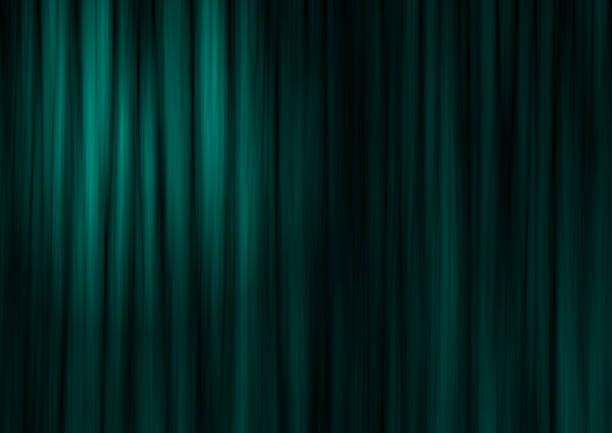 Green theater Vorhang – Foto