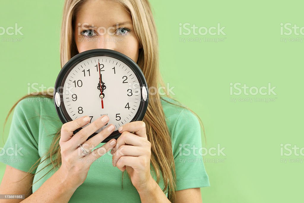 Green TIme royalty-free stock photo