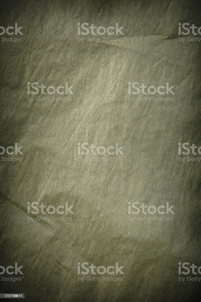 Green Tissue Paper royalty-free stock photo