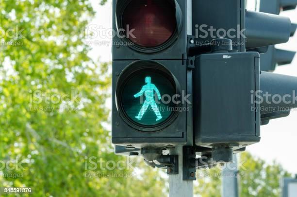 Green traffic light for pedestrians on the crosswalk picture id845591876?b=1&k=6&m=845591876&s=612x612&h=8u6icemeh8xsikphrt32dvywukbom2yy lk2bi buem=