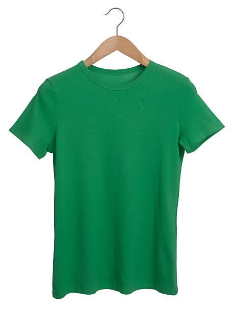 green-t-shirt – Foto