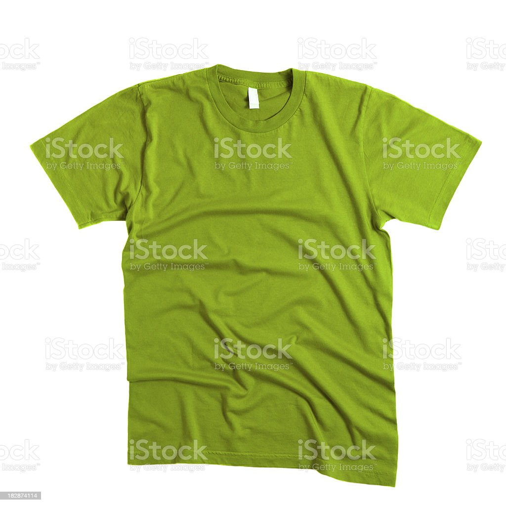 Green T-Shirt royalty-free stock photo