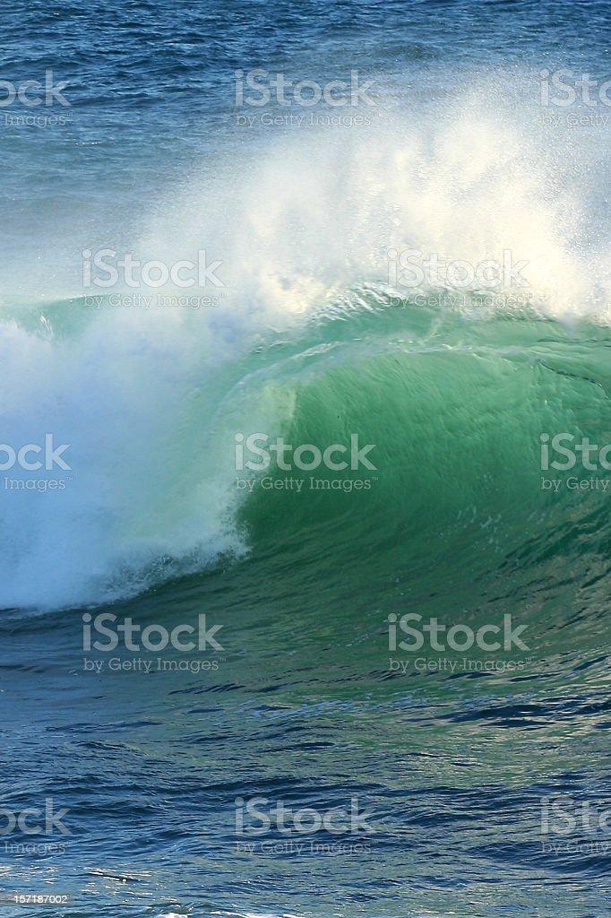 Green tube stock photo
