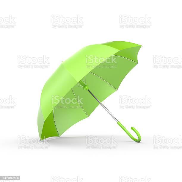 Green umbrella on white picture id612380420?b=1&k=6&m=612380420&s=612x612&h=gl8nuwftoinewh1vprowcmtt2qrodykwa39sxuqzkt0=