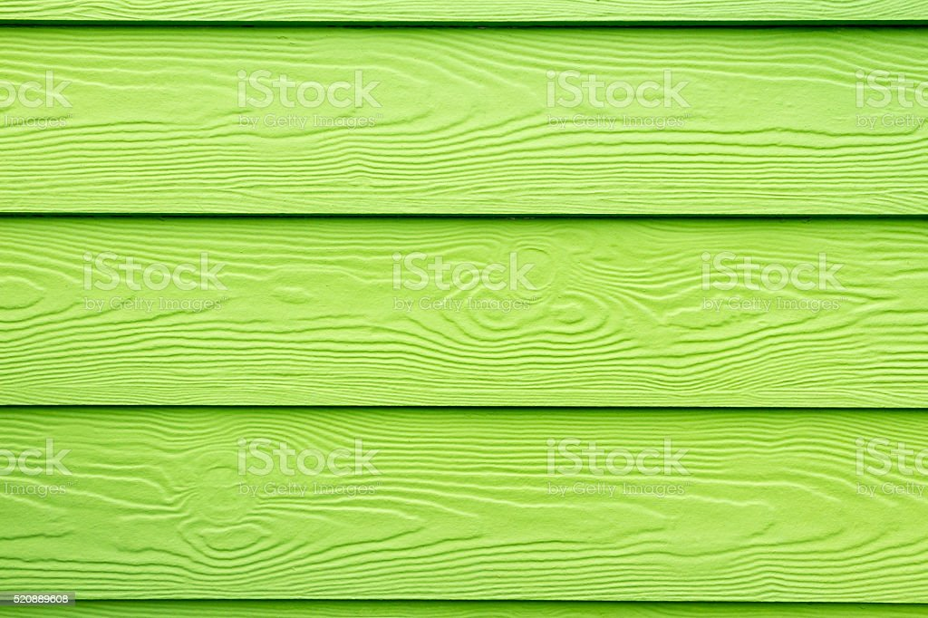 Green varnished wood structure stock photo