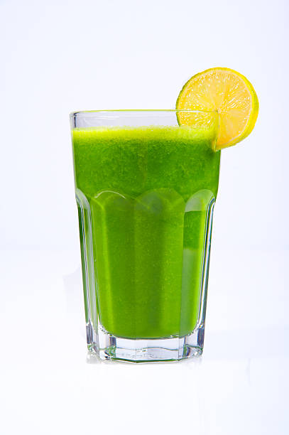 Grüne Gemüsesaft – Foto