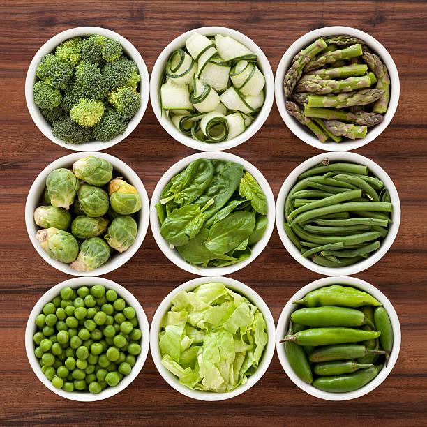 green vegetables - pea sprouts bildbanksfoton och bilder