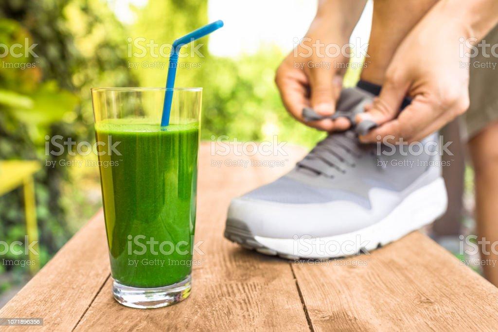 Green veggie smoothie – zdjęcie