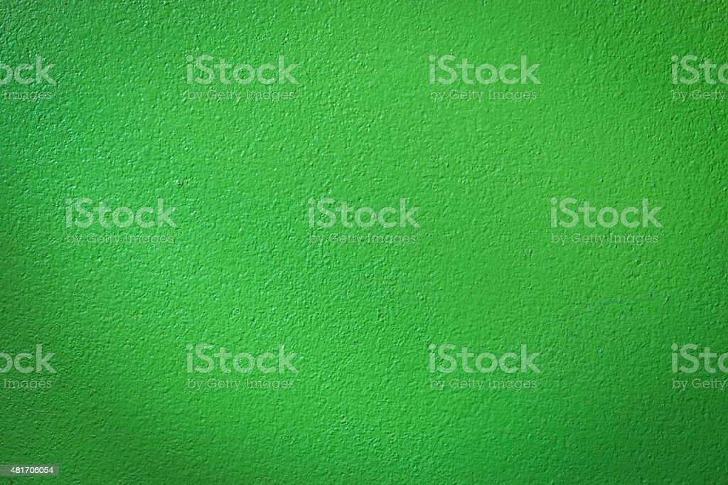 Green wall background or texture stock photo