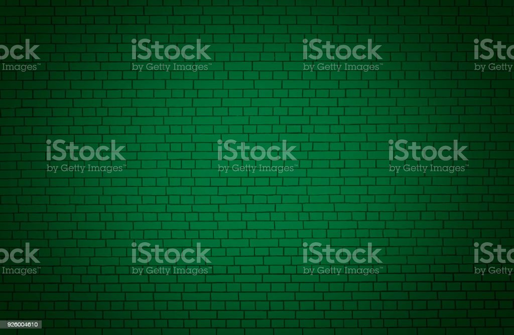 Green wall background. stock photo