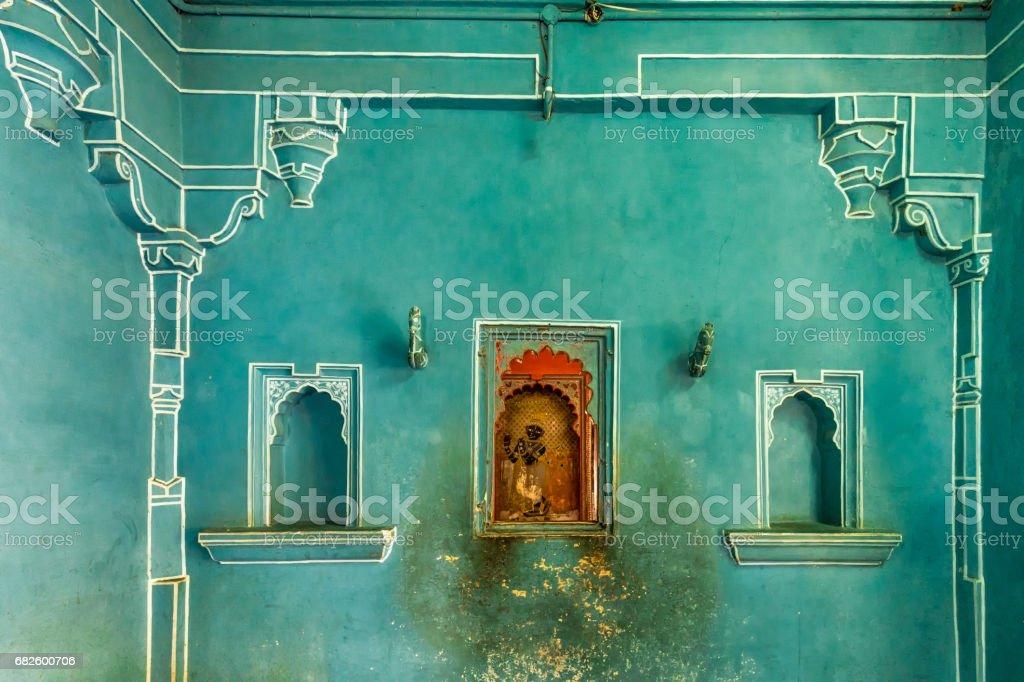 Green wall India - foto de stock