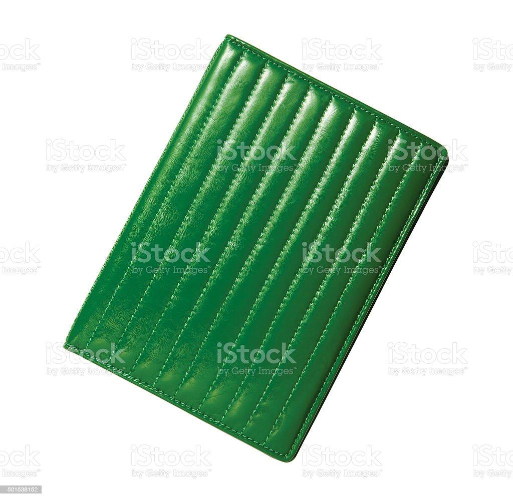 green wallet stock photo