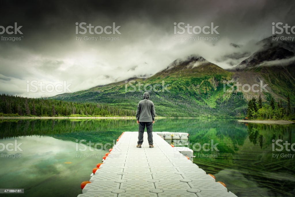 Green Water royalty-free stock photo
