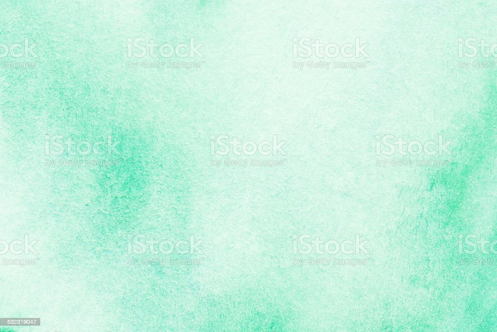 Green watercolor background stock photo