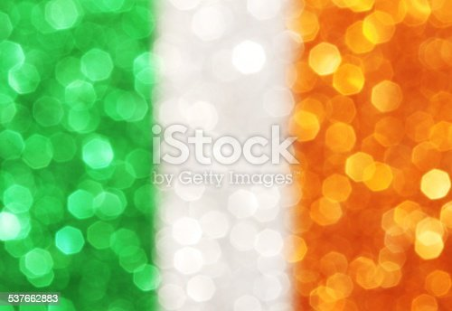 Green, white and orange vertical stripes - abstract background