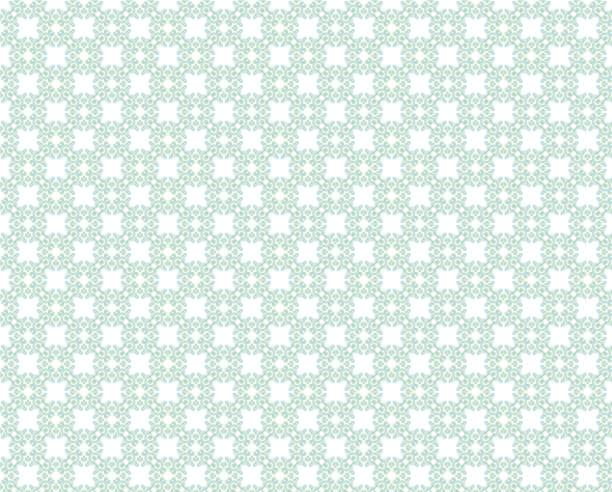 vert & blanc décoratif répétant de fond fond d'écran - damas en matière textile photos et images de collection