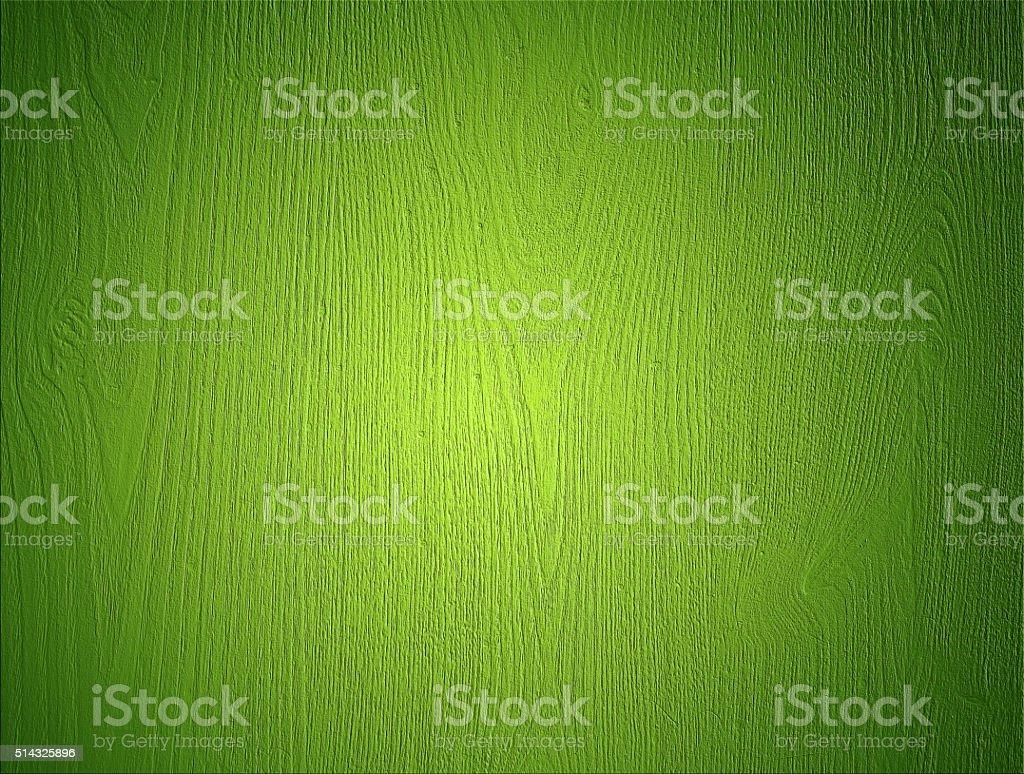 Green Wood Background stock photo