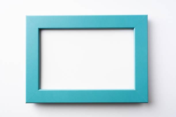 telaio in legno verde fro mockup - intelaiatura foto e immagini stock