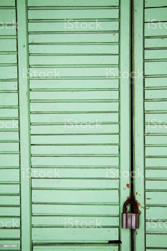 Green wooden texture royalty-free stock photo