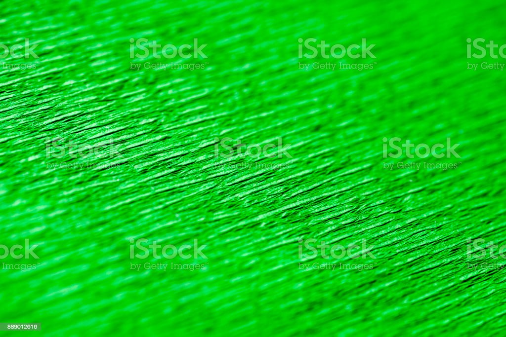 Green wrapping paper texture stock photo