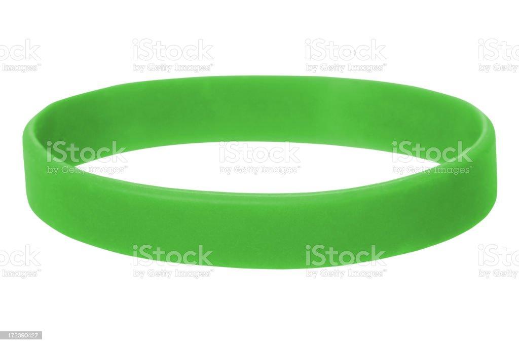 Green Wristband royalty-free stock photo