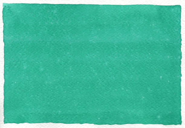 Green-Blue Watercolor background stock photo