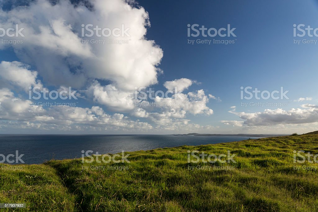 Greener Pastures stock photo