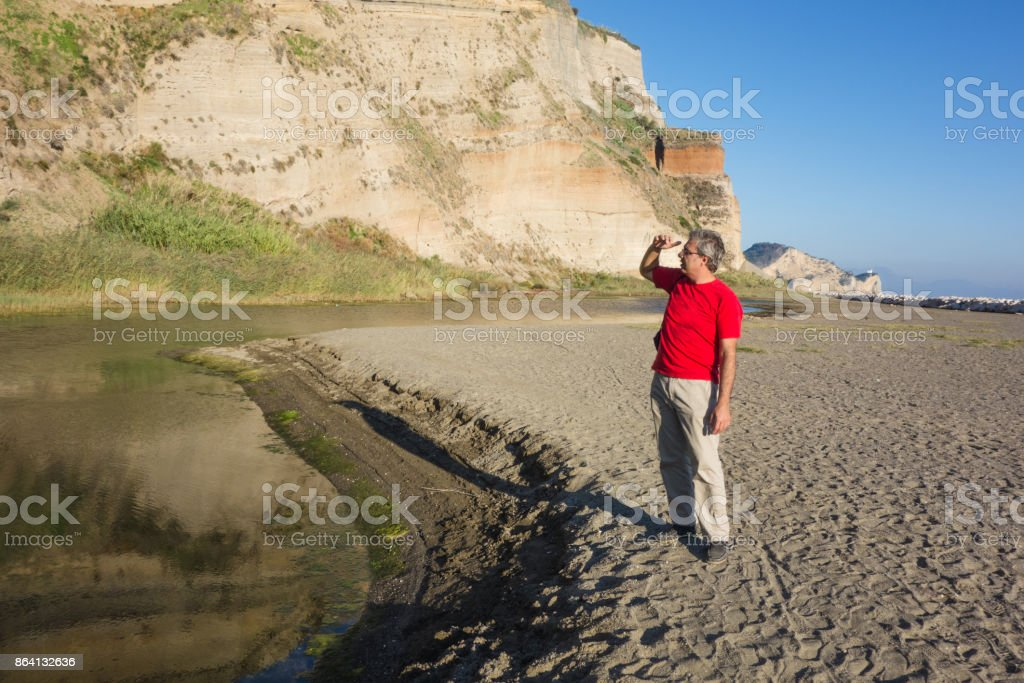 Greenery in the bay of Naples, Italy royalty-free stock photo