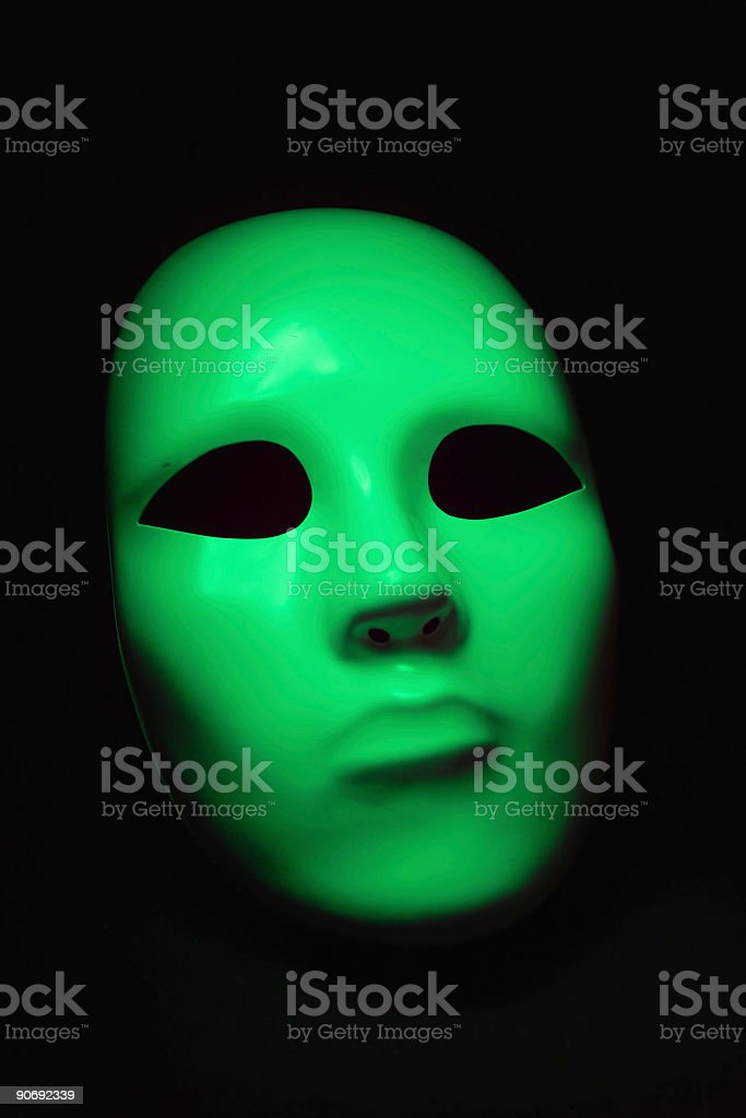 greenface 2 stock photo