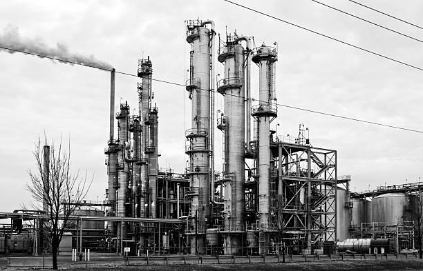 greenfield etanol de - engenharia química imagens e fotografias de stock