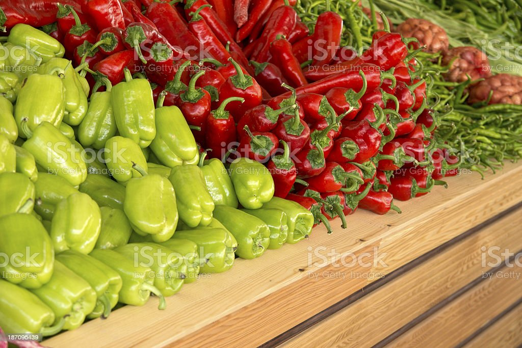 greengrocer royalty-free stock photo