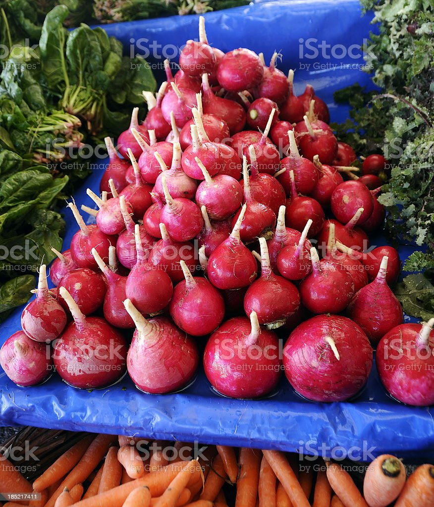 Greengrocer's shop royalty-free stock photo