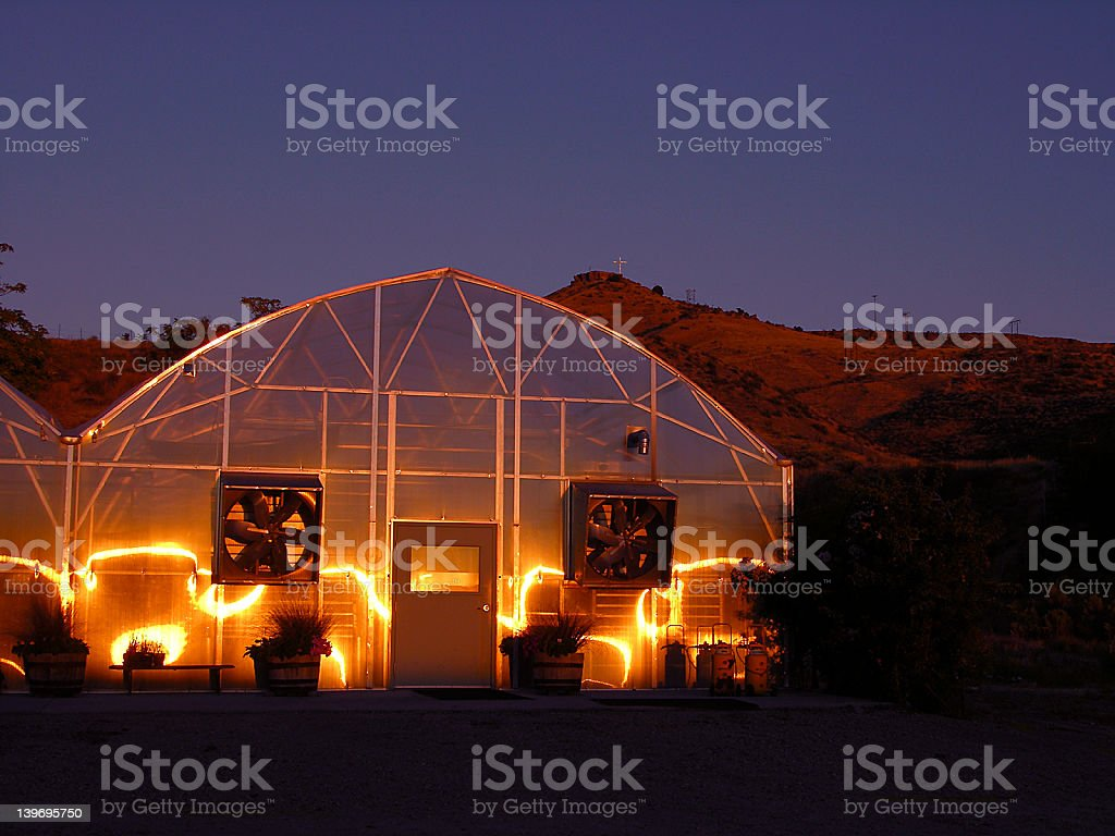 Greenhouse Effects stock photo