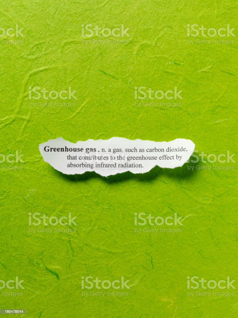 Greenhouse Gas royalty-free stock photo