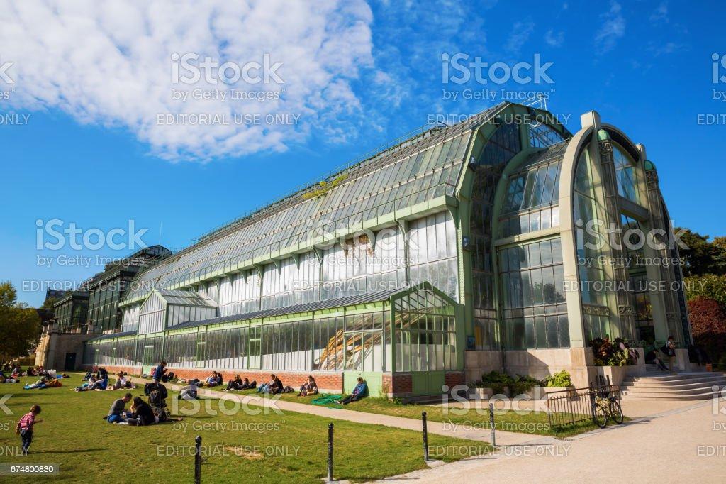 Greenhouse In The Jardin Des Plantes Paris France Stockfoto und mehr ...
